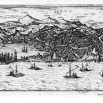 Vue du port de Gênes et la Ligurie 1572 Collection d'Anville Bibliothèque nationale de France, département Cartes et plans, CPL GE DD-2987 (5304)