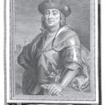 Hugo de Moncade extrait des Portraits d'Espagnols illustres 1791