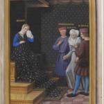 La honte du peuple de Genes Jean Marot le voyage de Gênes Département des Manuscrits, Français 5091 Folio 27r BNF