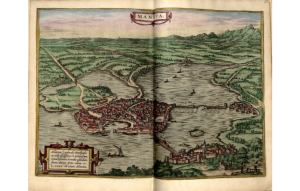 Mantoue Braun, Georg (1541-1622) Civitates orbis terrarvm Library of Congress Geography and Map Division Washington, D.C.
