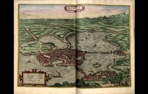 Mantoue Braun, Georg (1541-1622) Civitates orbis terrarvm Library of Congress Geography and Map Division Washington, D.C.