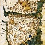 Plan de Constantinople (1422), par Cristoforo Buondelmonti
