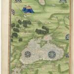 Carte Pourtour de la mer noire et mer d'Azov Cosmographie universelle Folio 36 Service historique de la Défense, D.1.Z14 BNF