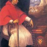Portrait du cardinal Cisneros