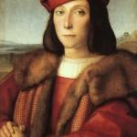 Rafaello Santi Portrait de Francesco Maria della Rovere Seigneur de Sinigaglia puis duc d'Urbin Musee des Offices Florence