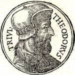 """Theodore Trivulzio Gravure d'après le livre """"Promptuarii Iconum Insigniorum"""" de Guillaume Rouille"""