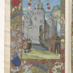 Claudius Ptolemaeus , Cosmographia , Jacobus Angelus par Claudius Ptolemaeus (0100-0170)Librairie royale de Blois, Latin 4804 Folio 4v