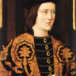 Edouard IV Roi d'Angleterre Portrait posthume de 1520 Ecole Anglo-Flamande
