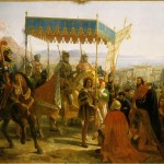 Entrée de Charles VIII à Naples, le 12 mai 1495 Feron Eloi Firmin (1802-1876) Inv n°MV2696 Versailles, châteaux de Versailles et de Trianon