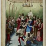 Le traité des Tournois de René d'Anjou à la BNF