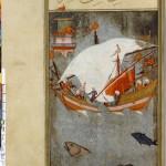 Le navire des sorciers Ustad Osman (actif entre 1559 et 1596) SUPPL TURC 242 Folio81 Matali' al-sa'adet. Le Livre du Bonheur Paris, Bibliothèque nationale de France (BnF)