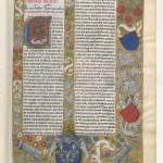 Claudius Ptolemaeus , Cosmographia , Jacobus Angelus par Claudius Ptolemaeus (0100-0170)Librairie royale de Blois, Latin 4804 Folio 2r