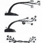 Technique utilisée pour obtenir des courbes servant à l'armature des coques de navires