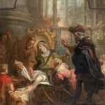 Saint François de Paule guérissant Jean Catarello. Théodore Van Thulden. XVIIe Le Louvre