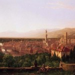 Thomas Cole (1801-1848) View Of Florence From San Miniato (1837)