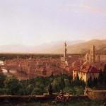 Tableau Thomas Cole (1801-1848) Vue de Florence depuis San Miniato (1837)