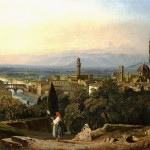 William James Müller (1812-1845) View Of Florence And The River Arno From St.Miniato