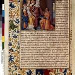 Remise du De Mulieribus Claris à Andrée de Hauteville