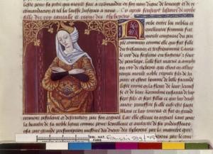 Boccace De mulieribus claris Traduction Laurent de Premierfait Illustrations Robinet Testard Français 599, fol. 15, Niobè BNF