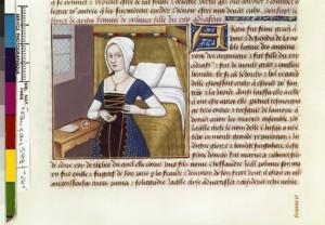 Boccace De mulieribus claris Traduction Laurent de Premierfait Illustrations Robinet Testard Français 599, fol. 24v, Argia BNF