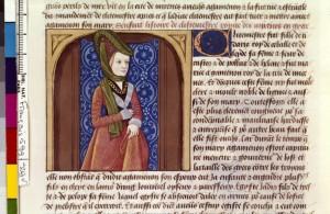 Boccace De mulieribus claris Traduction Laurent de Premierfait Illustrations Robinet Testard Français 599, fol. 29v, Clytemnestre BNF