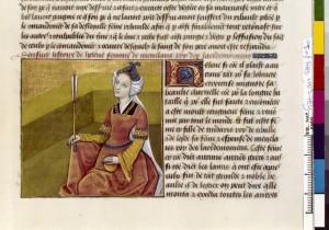 Boccace De mulieribus claris Traduction Laurent de Premierfait Illustrations Robinet Testard Français 599, fol. 30, Hélène BNF