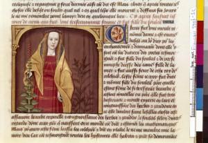 Boccace De mulieribus claris Traduction Laurent de Premierfait Illustrations Robinet Testard Français 599, fol. 32, Circé BNF