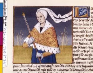 Boccace De mulieribus claris Traduction Laurent de Premierfait Illustrations Robinet Testard Français 599, fol. 35v, Lavinia BNF