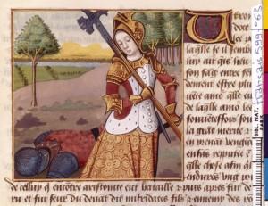 Boccace De mulieribus claris Traduction Laurent de Premierfait Illustrations Robinet Testard FrançaisFrançais 599, fol. 63, Vengeance de Laodice de Cappadoce BNF