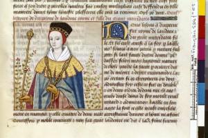 Boccace De mulieribus claris Traduction Laurent de Premierfait Illustrations Robinet Testard FrançaisFrançais 599, fol. 65, Drypetina BNF