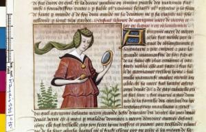 Boccace De mulieribus claris Traduction Laurent de Premierfait Illustrations Robinet Testard FrançaisFrançais 599, fol. 78v, Agrippine la Jeune BNF BNF