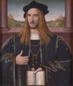 Bernardino Loschi Alberto III Pio Prince de Carpi National Gallery Londres