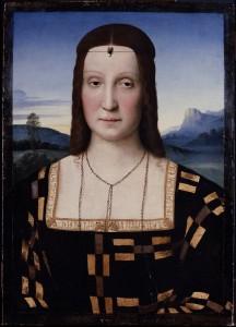 Elisabetta Gonzaga Duchesse d'Urbin Raphael Les Offices