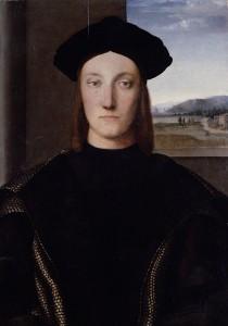 Guidobaldo de Montefeltre Raphael Les Offices