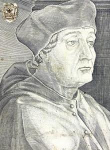 Cardinal Jerome Aleandro de La Motta