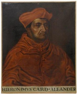 Cardinal Girolamo Aleandro