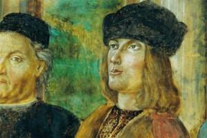 Bernardino_Loschi,_Aldo_Manuzio et Alberto Pio Fresque Palais de Carpi
