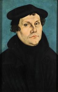 Martin Luther Lucas Cranach l'ancien