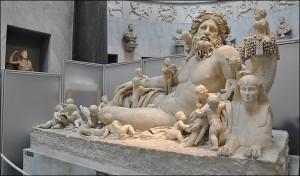 Statue Le Nil Musée Chiaramonti