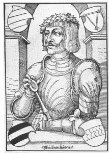 Ulrich von Hutten Erhard Schon (ca. 1491-1542)