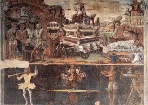 Allegorie de Septembre Ercole Roberti Palais Schifanoia Image Wikipedia