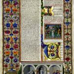 La bible de Borso d'Este: la magnificence du duc de Ferrare