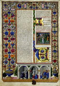 Bible de Boso d Este Vol 2 vue 7 Biblioteca Estense Site la Bibliothèque numérique mondiale