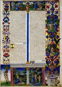 Bible de Borso d'Este Vue 13 Biblioteca Estense Site la Bibliothèque numérique mondiale