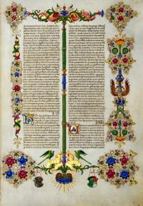 Bible de Boso d Este Vue 7 Vol 1 Biblioteca Estense Site la Bibliothèque numérique mondiale