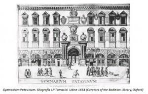 Gymnasium patavinum (de Padoue) Bodleian Library Oxford