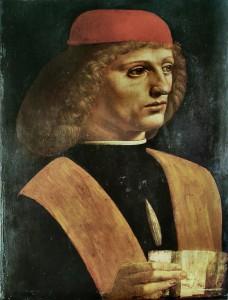 Léonard de Vinci Galeas de Sanseverino 1483 Pinacoteca Ambrosiana Milan