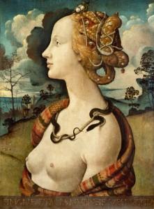 Piero di Cosimo Simonetta Vespucci 1480 Musée Condé Chantilly