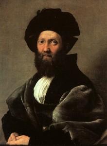 Raphael 1519 Baldassare Castiglione à l'âge de 41 ans Musée du Louvre