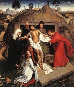 Rogier van der Weyden Pieta Musée des Offices Florence Image Wikipedia